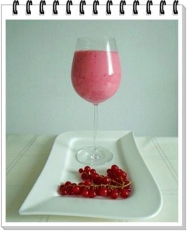 Erfrischend &  vitaminreich Johannisbeeren Shake  zum auslöffeln - Rezept - Bild Nr. 11