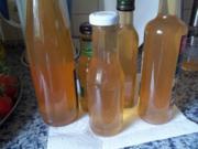 Apfelsaft mit Zitronennote - Rezept