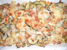 Zucchini - Bandnudel - Auflauf - Rezept