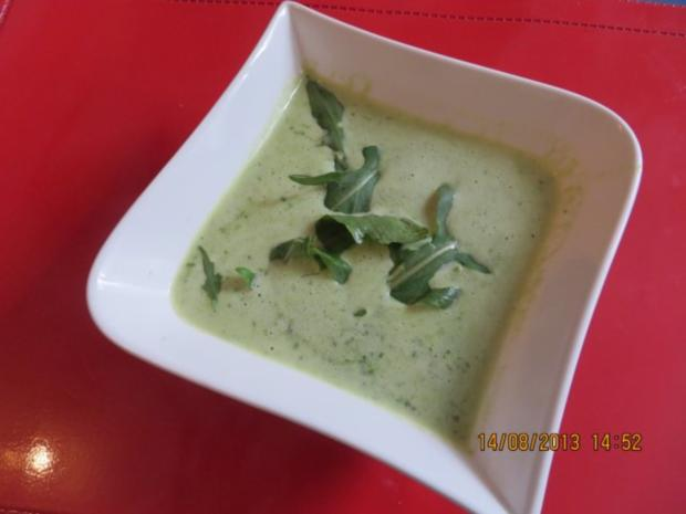 Suppe: Rucolasuppe - Rezept