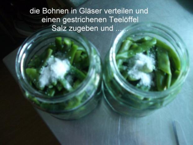 Bohnen für Bohnensalat - Rezept - Bild Nr. 6