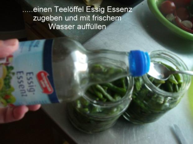 Bohnen für Bohnensalat - Rezept - Bild Nr. 7