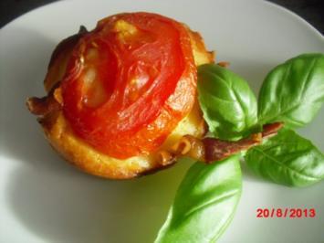 Schinken-Käse-Muffins - Rezept