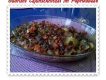 Fleisch: Cajun-Schnitzel im Paprika-Beet - Rezept