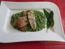 Kochen:Rotbarbe auf Bärlauchrisotto - Rezept