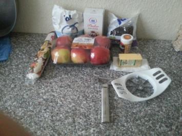 Äpfel im Schlafrock - Rezept