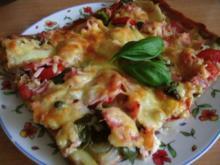 bunte Gemüse - Pizza - Rezept