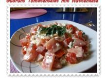 Salat: Tomatensalat mit Hüttenkäse - Rezept