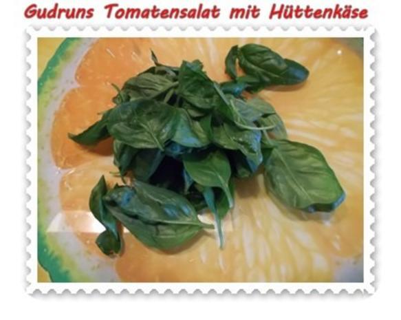 Salat: Tomatensalat mit Hüttenkäse - Rezept - Bild Nr. 6