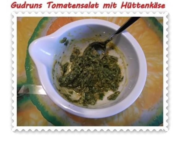 Salat: Tomatensalat mit Hüttenkäse - Rezept - Bild Nr. 8