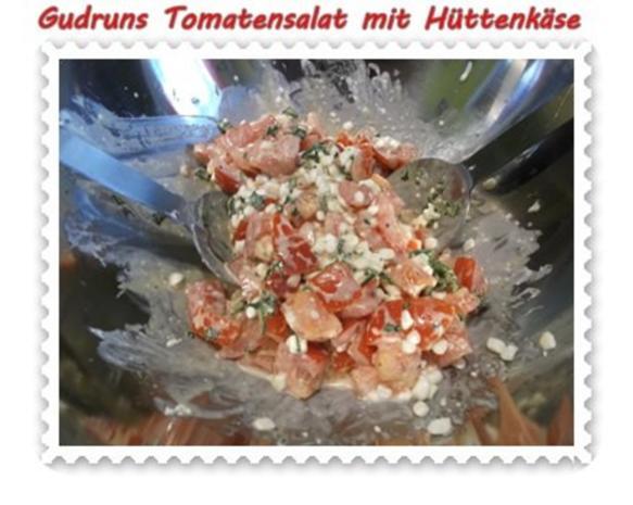 Salat: Tomatensalat mit Hüttenkäse - Rezept - Bild Nr. 10