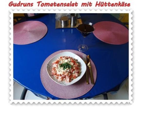 Salat: Tomatensalat mit Hüttenkäse - Rezept - Bild Nr. 11