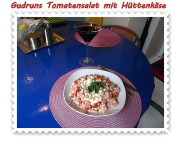 Salat: Tomatensalat mit Hüttenkäse - Rezept - Bild Nr. 13