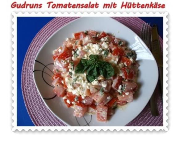 Salat: Tomatensalat mit Hüttenkäse - Rezept - Bild Nr. 14