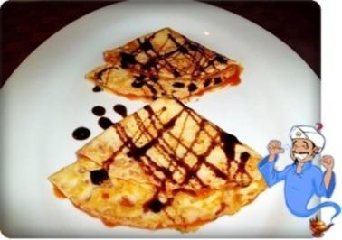 Pfannkuchen mit Hagebutten-Konfitüre - Rezept