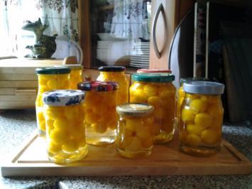 Mirabellen im Glas nach Omas Art - Rezept