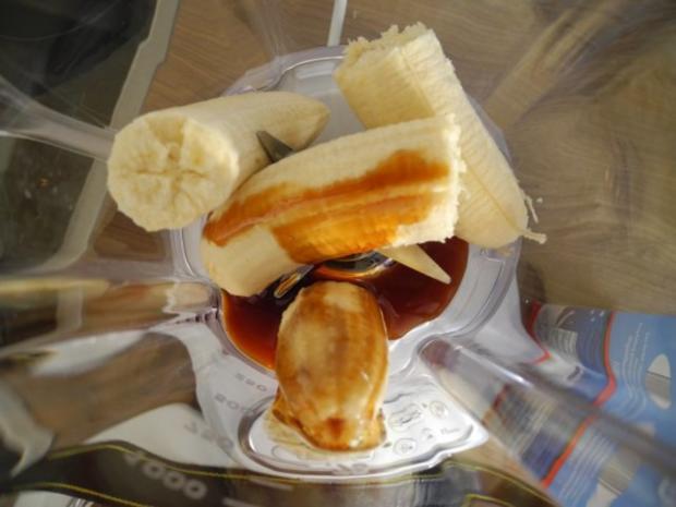 Dessert :  Bananen - Milch - Shake - Rezept - Bild Nr. 4