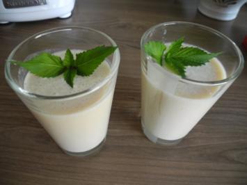 Rezept: Dessert :  Bananen - Milch - Shake