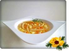 Gelbe  Bohnensuppe - Rezept