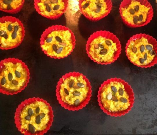 Kürbis - Feta - Muffins - Rezept - Bild Nr. 10