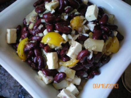 Salat: Rote- Bohnen-Salat - Rezept