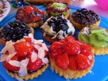 Kesse Obst-Törtchen für ein Geburtstags-Kind ... - Rezept