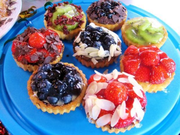 Kesse Obst-Törtchen für ein Geburtstags-Kind ... - Rezept - Bild Nr. 5