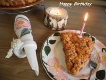 Geburtstagskuchen - Rezept