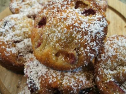 Backen: Zwetschgen-Marzipan-Muffins - Rezept