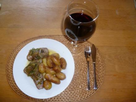 Thunfischfilet mit Marsala-Schalotten - Rezept