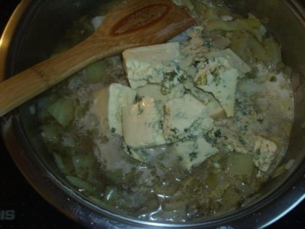 Pasta mit Fenchel und Gorgonzola - Rezept - Bild Nr. 5