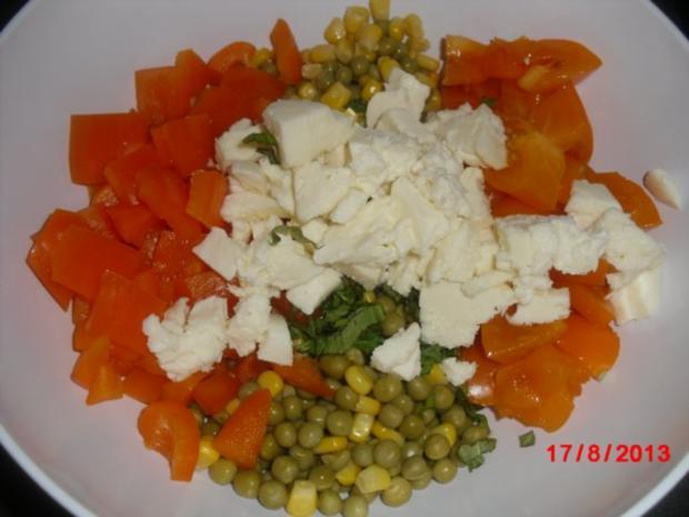 Wrap aus Vollkorn mit Gemüse-Füllung - Rezept - Bild Nr. 2