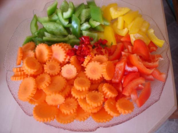 Hähnchenbrustfilet-Curry mit buntem Reis - Rezept - Bild Nr. 5