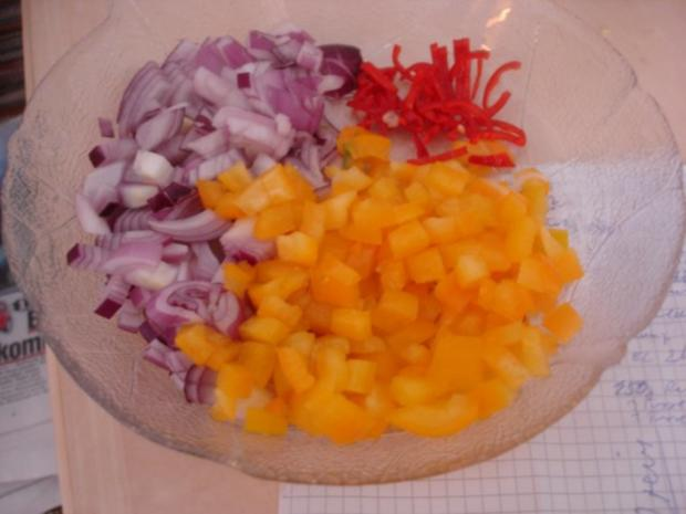 Hähnchenbrustfilet-Curry mit buntem Reis - Rezept - Bild Nr. 16