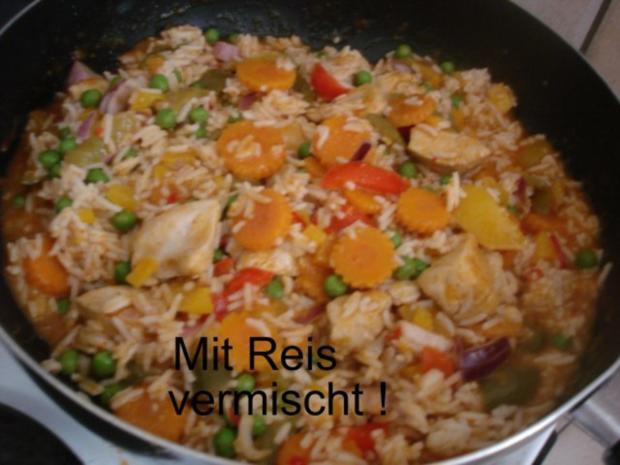 Hähnchenbrustfilet-Curry mit buntem Reis - Rezept - Bild Nr. 20