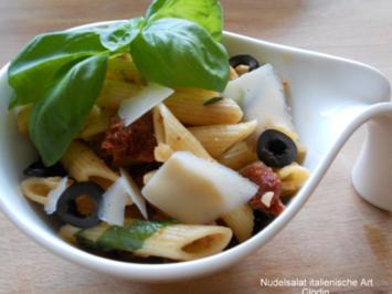 Nudelsalat italienische Art - Rezept