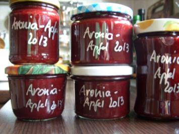 Konfitüre & Co: Aronia mit Apfel 2013 - Rezept