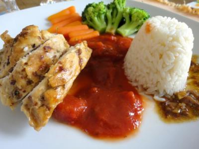 Guddi's brasilianisches Kampfhühnchen - Rezept