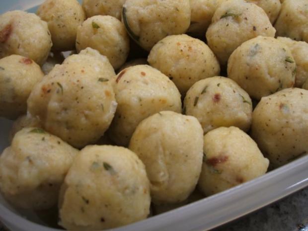 Kartoffeln: Rosmarin-Kartoffelbällchen - Rezept