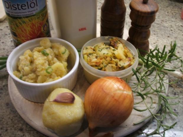 Kartoffeln: Rosmarin-Kartoffelbällchen - Rezept - Bild Nr. 2