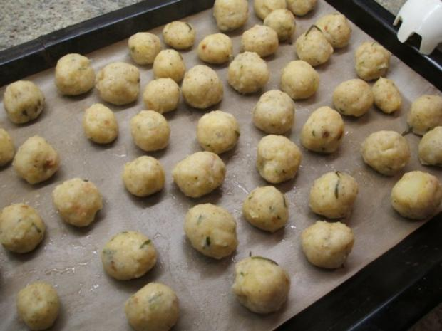 Kartoffeln: Rosmarin-Kartoffelbällchen - Rezept - Bild Nr. 9