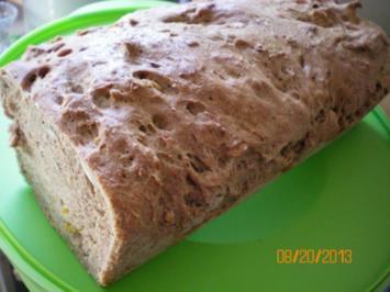Brot mit Kürbiskernen - Rezept
