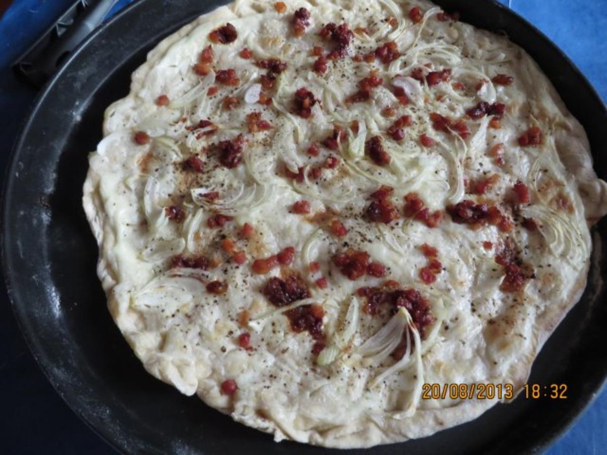 Flammkuchen Ohne Creme Fraiche Rezepte Kochbar De