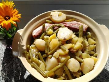 Birnen-Bohnen-Speck - Rezept