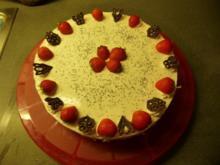 Philadelphia Erdbeer-Mohn Torte - Rezept