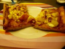 schnelle Pizza - Rezept