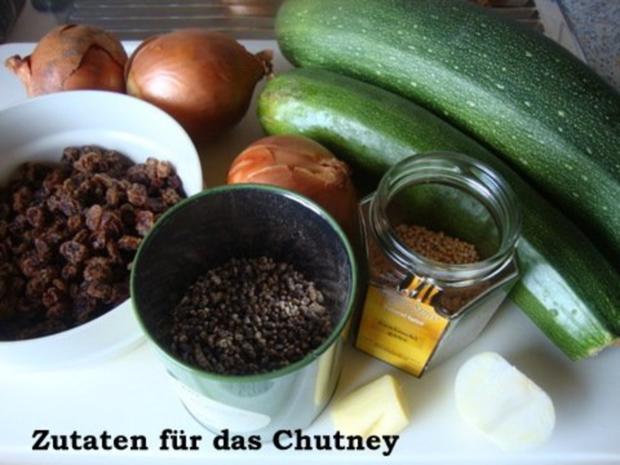 Zucchinichutney mit Rosinen-Ingwer-Kardamom - Rezept - Bild Nr. 2