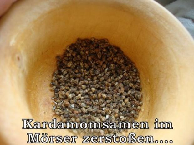 Zucchinichutney mit Rosinen-Ingwer-Kardamom - Rezept - Bild Nr. 5