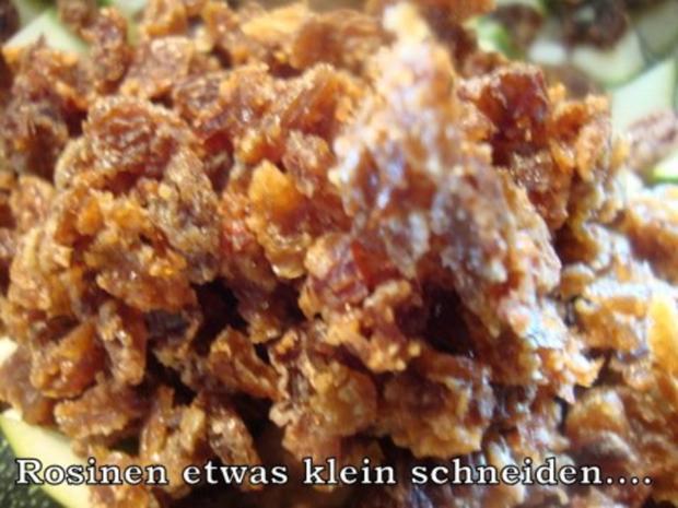 Zucchinichutney mit Rosinen-Ingwer-Kardamom - Rezept - Bild Nr. 6