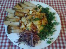 Kräuterseitlinge mit Bratkartoffeln - Rezept